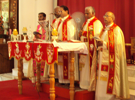In Kerala, Priests are like Elephants!   Golden Messages